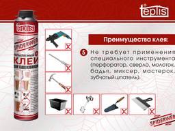 Строительный клей для теплоизоляции Teplis Spiderweb 1000ml - photo 6