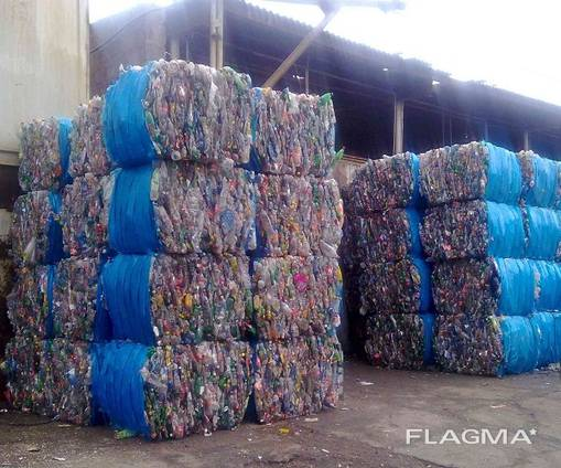 100% Clear Recycled Plastic Scraps