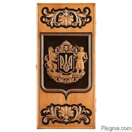 "Backgammon ""Ukrainian coat of arm"" #2"