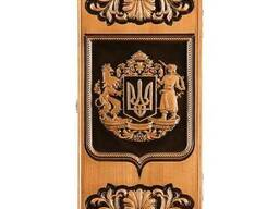 "Backgammon ""Ukrainian coat of arm"" #2"