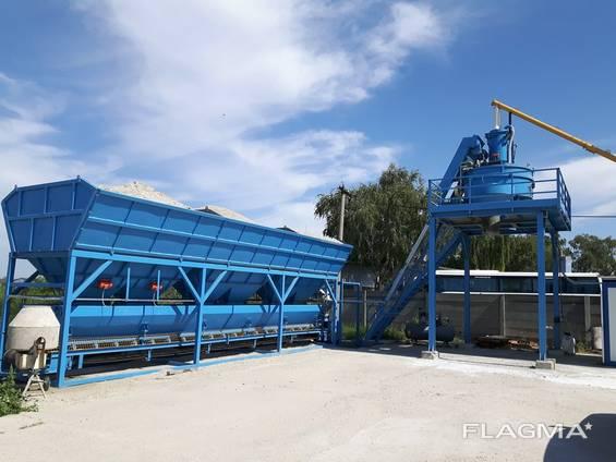 Стационарный бетонный завод SUMAB T-20 (20 м3/ч) Швеция