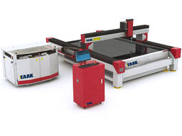 Small size water jet cnc cutter for stone glass metal