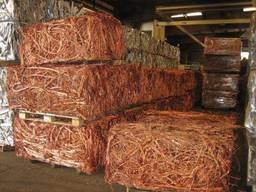 Copper wire Millberry Scrap, Aluminum Scrap, OCC waste paper