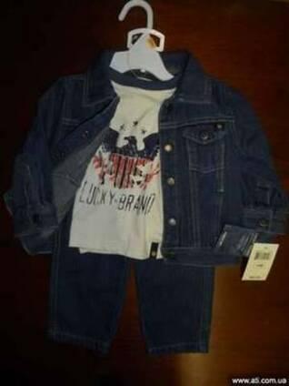 Детская одежда 40 единиц и комплектов из США (опт)