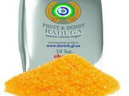 Fruit, berry taste sugar «Raduga»