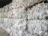 Hdpe milk bottles scrap - photo 1