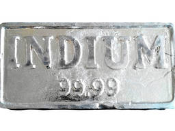 Indium Ingot | metal indium brand InOO GOST 10297-94