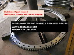 JCB JS220 excavator turntable bearings - photo 4
