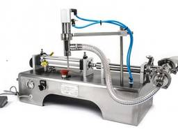 Pneumatic liquid filler - liquid dispenser 10 - 100ml