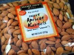 Raw Dried Bitter Apricot Kernels