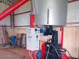The Line with a dryer 1500 kg/h